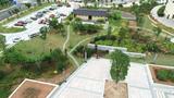 客家博览园上山大台阶两侧山体绿化及廊道、栈道工程